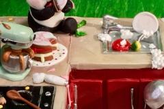 We Bare Bears Cake Topper