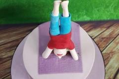 Lisa - Yoga Cake Topper