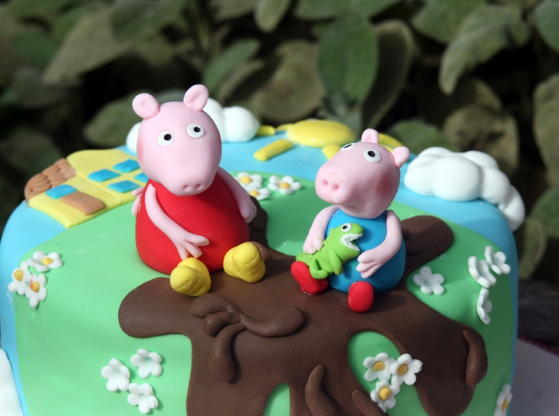 Peppa Pig Cake Topper Ireland
