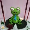 Robert - Frog Cake Topper