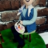 Marie - Artist Cake Topper