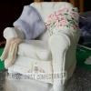 Armchair Cake Topper