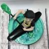 Canoe Cake Topper
