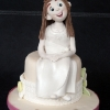 Aisling Communion Cake Topper