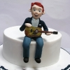James - Confirmation Cake Topper Figure