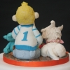 Boy and Westie Cake Topper