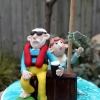 Rob and Marge Cake Topper
