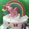 Millie - My Little Pony Cake Topper