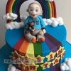 Oisin - Christening Cake Topper