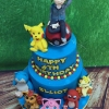 Elliot - Pokemon Birthday Cake