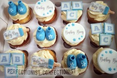 Baby boy - Baby Shower Cupcakes
