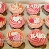 Ellen - Baby Girl Baby Shower Cupcakes