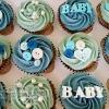 Ellen - Baby Boy Baby Shower Cupcakes