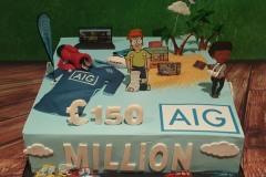 AIG - Corporate Cake