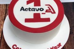 Actavo - Corporate Birthday Cake