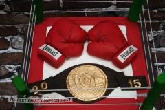 Joe - Boxing Retirement Cake