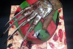 Nightmare on Elm Street / Freddy Krueger Cake
