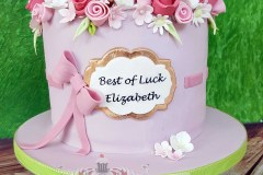 Elizabeth - Bon Voyage Cake