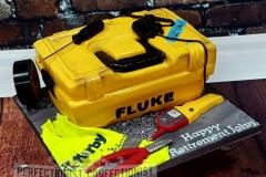 John - Fluke Toolbox Retirement Cake