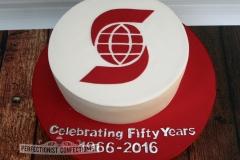 Scotia Bank - 50th Anniversary Celebration Cake