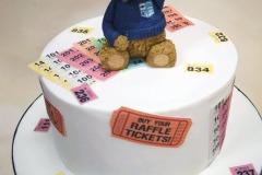 Temple Street - Teddy Bear Raffle Cake