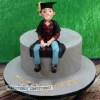 Jett - Graduation Cake