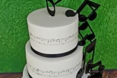 Sharon and Robert - Musical Wedding Cake