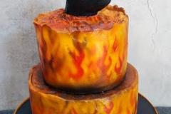 Ivan & Deirdre - Terminator 2 Wedding Cake