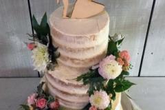 Sarah & Rich - Wedding Cake Ballymagarvey Village