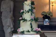 Niamh & Aidan - Tankardstown House Wedding Cake