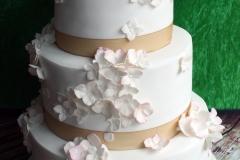 Eimear and John - Hydrangea Wedding Cake