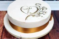 Emily & Ian - Wedding Cake