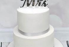 Marina & Simeon - Elegant Wedding Cake