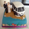 Wallington Camper Van Wedding Cake