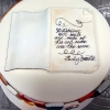 Maria and Garrett - Wedding Cake