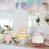 Ben and Rachel - Dessert Table Wedding Cakes