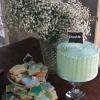 Kim and Richard - Dessert Table Wedding Cake