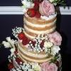 Naked Cake!! - Wedding Cake
