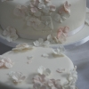 Tom & Emer - Hydrangea Wedding Cake