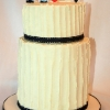 Vanessa and Andrew- Mr & Mrs Wedding Cake