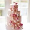 Pastel Mushroom Wedding Cake