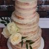 Declan and Derek - Naked Wedding Cake