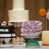 Gary and Amanda - Dessert Table Wedding Cakes