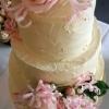Lorraine & Brian - Rustic Wedding Cake