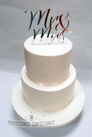Audrey & Ken - Elegant Wedding Cake