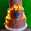 Charlene and Brendan - Wedding Cake!